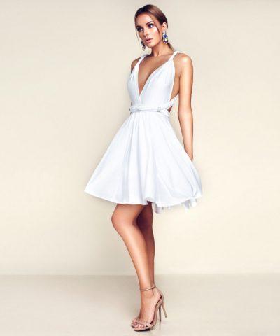 Balta MULTI suknelė