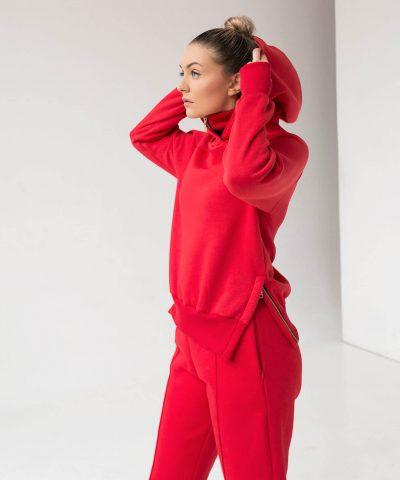 Laisvalaikio Kostiumas Moterims Raudonas Ttb Fashion